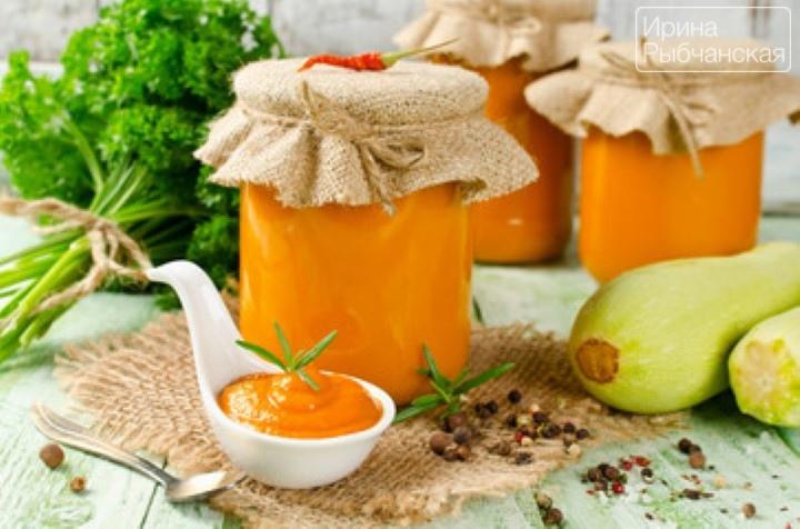 кабачки в томатной пасте на зиму рецепты с фото