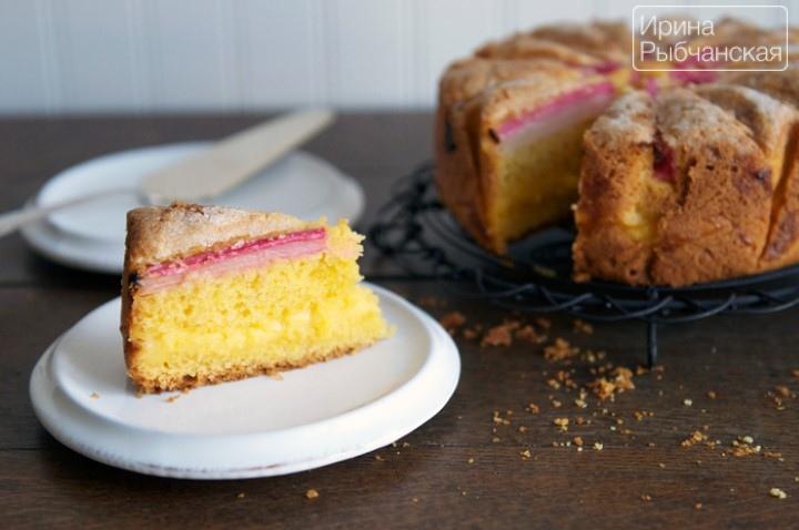 Вкусный пирог с ревенем— удачные рецепты из теста разных видов