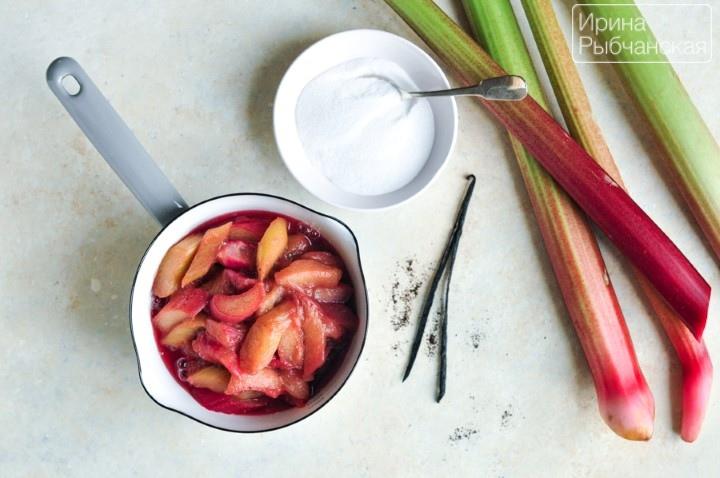 Рецепт компота из ревеня для утоления летней жажды и на зиму