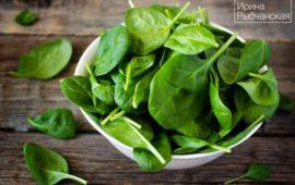Как заморозить шпинат на зиму и что из него приготовить