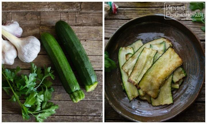 Миниатюра к статье Закуска из кабачков быстрого приготовления— мои излюбленные рецепты