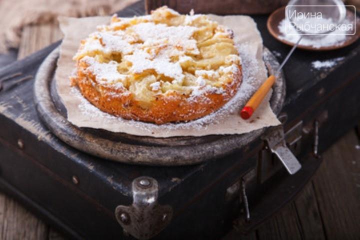 Миниатюра к статье Пышная шарлотка с яблоками в духовке— рецепты изумительной вкусноты