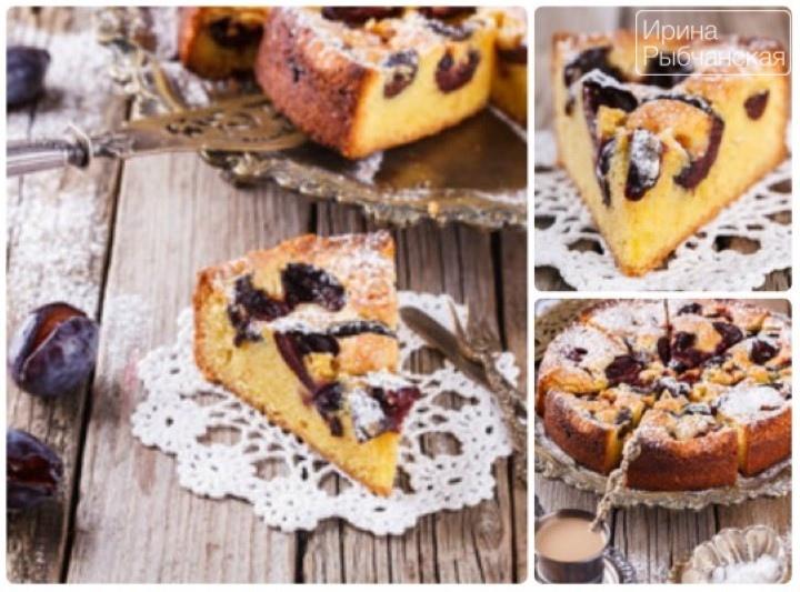 Миниатюра к статье Пирог со сливами быстро и просто— рецепты из разных стран