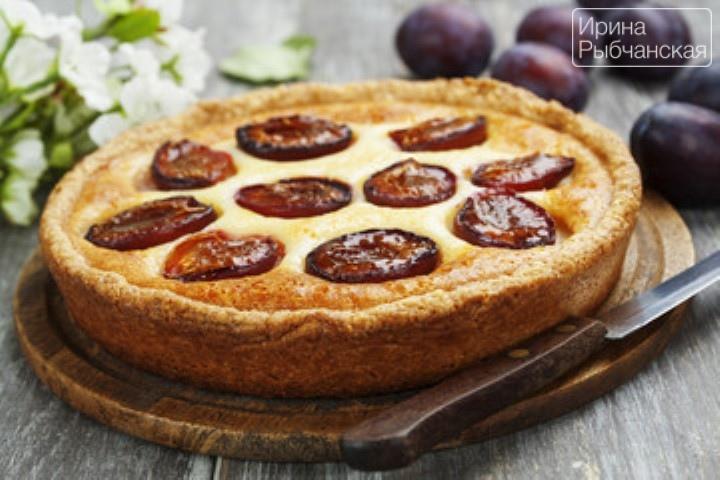 Пирог со сливами быстро и просто— рецепты из разных стран