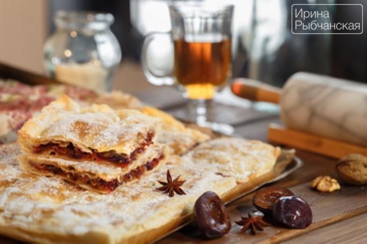 пирог из дрожжевого теста со сливой рецепт с фото