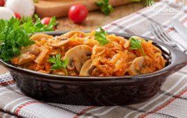 Солянка грибная на зиму с капустой— вкусные безопасные рецепты
