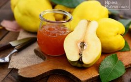 Желе из айвы— самый вкусный рецепт от французских сыроделов