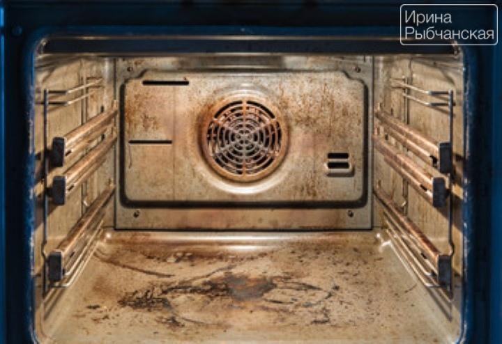 Миниатюра к статье Как очистить духовку от жира и нагара домашними способами