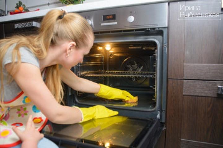 Как очистить духовку от жира и нагара домашними способами