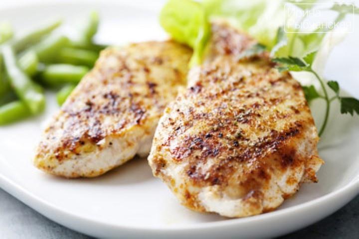 Как пожарить сочную золотистую куриную грудку на сковороде