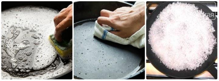 Как прокалить чугунную сковороду эффективными способами