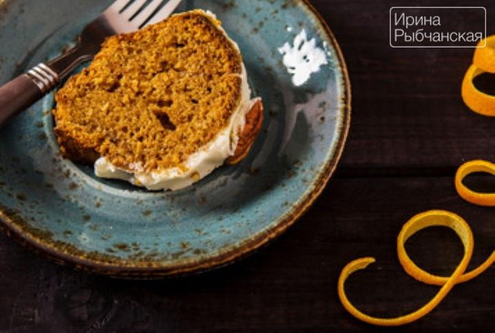 Постный морковный кекс— рождественский рецепт