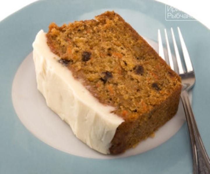 Миниатюра к статье Постный морковный кекс— рождественский рецепт