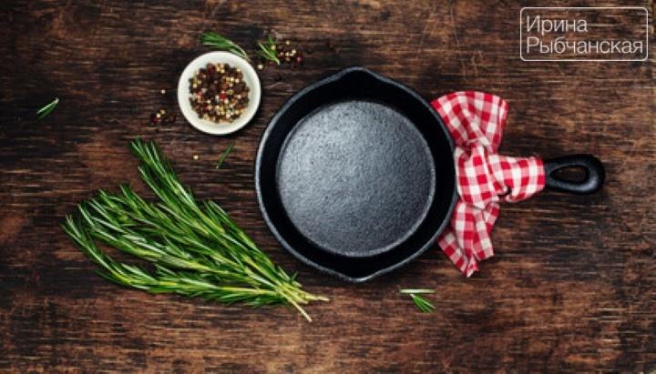 Миниатюра к статье Как почистить и прокалить старые чугунные сковороды до состояния новых