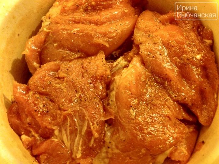 рецепты в горшочках картошка мясо грибы
