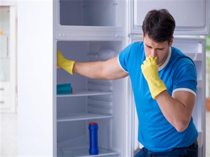 Как убрать запах из холодильника