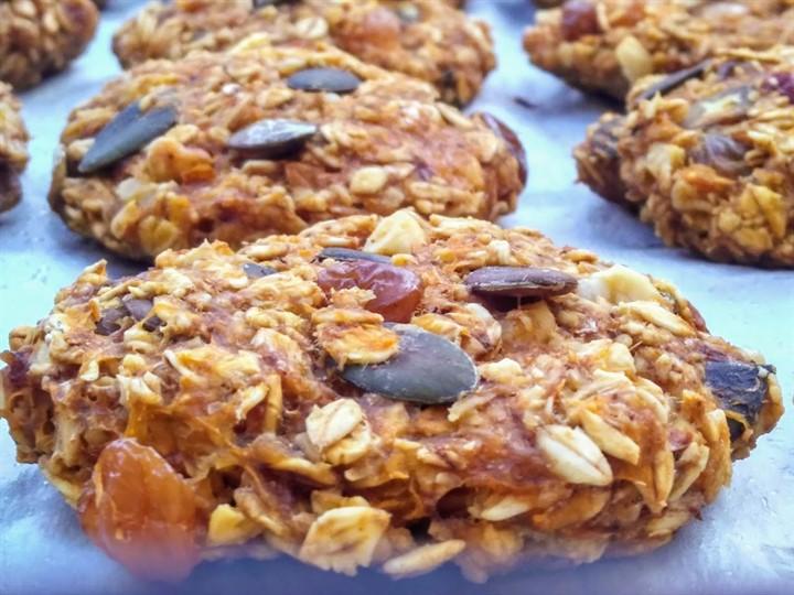 Постное овсяное печенье— рецепт с фото